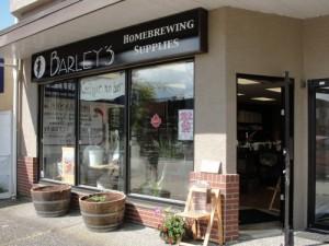 Barley's Storefront