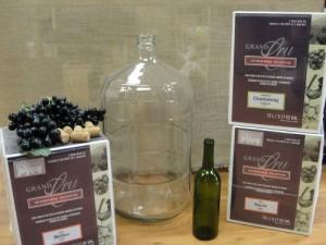 Wine Kits. Available at Barley's Homebrewing Supplies