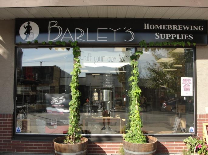 Barley's Hop Bines