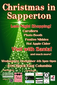 Christmas in Sapperton