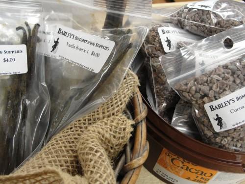 Vanilla Beans and Cocoa Nibs