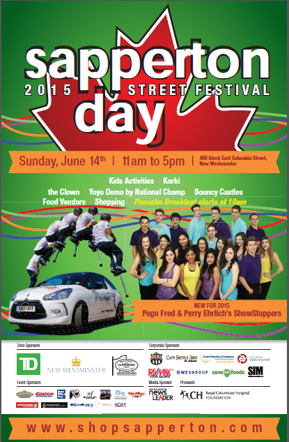 Sapperton Day 2015 poster