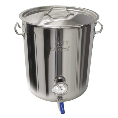 10 Gallon Stainless Steel Kettle