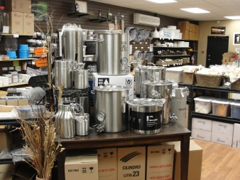 Brewing Pots and Supplies