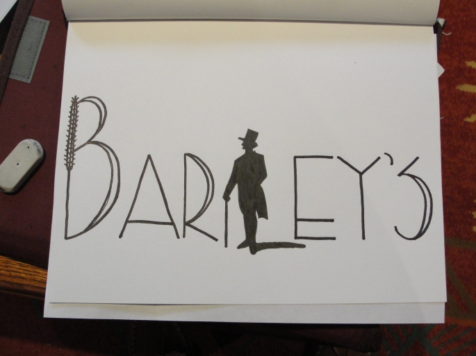 Barley's Early Concept Art